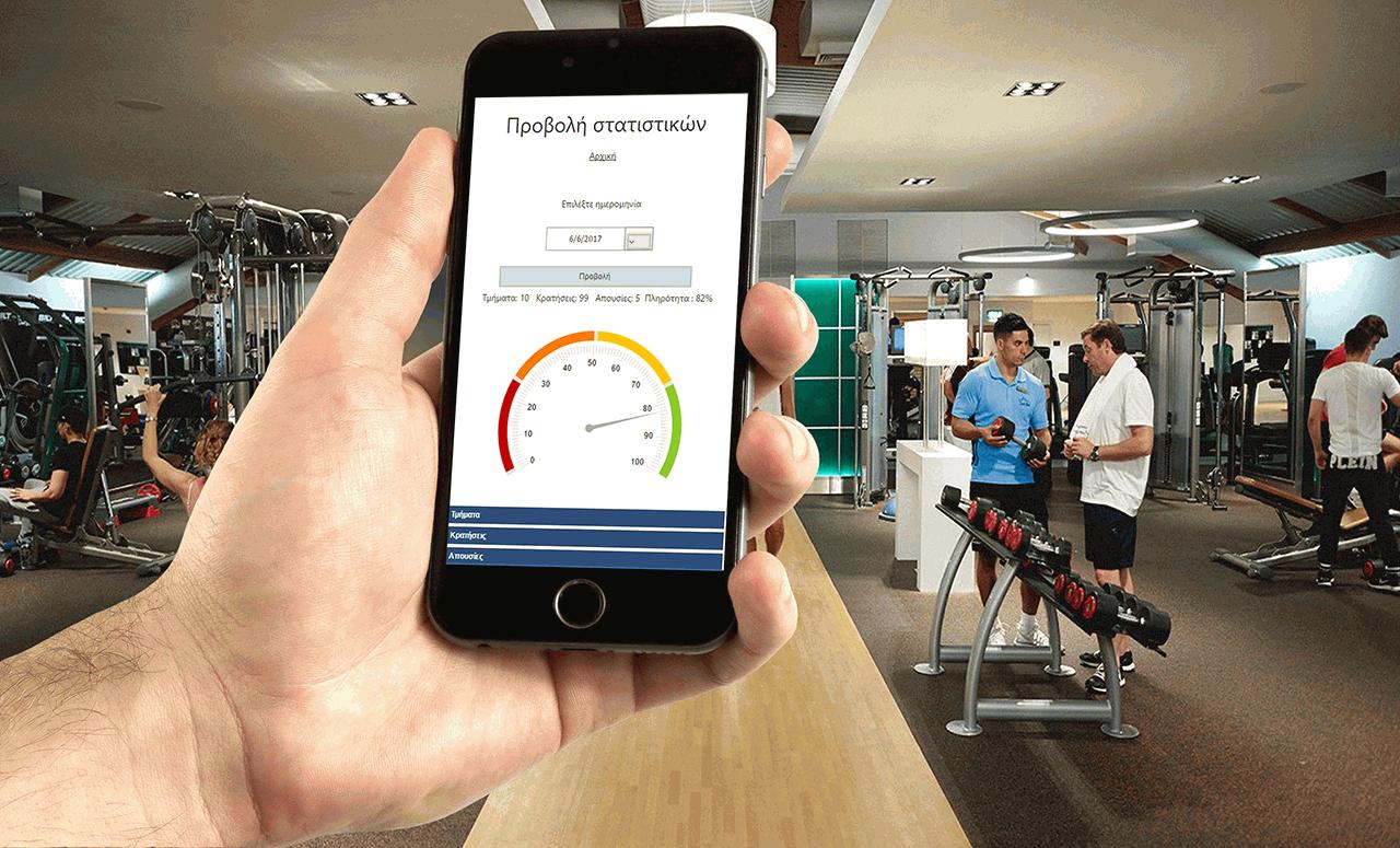 Σύστημα κρατήσεων για Γυμναστήρια – GymMaster Booking Online